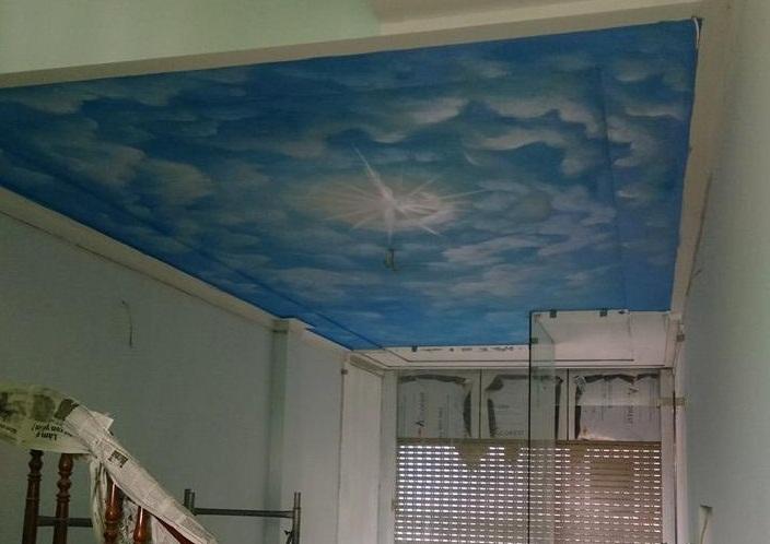 Trần mây 12