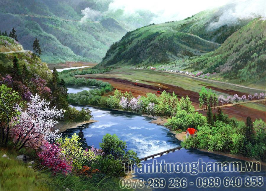 Vẽ tranh tường rẻ nhất tại tỉnh Hà Nam