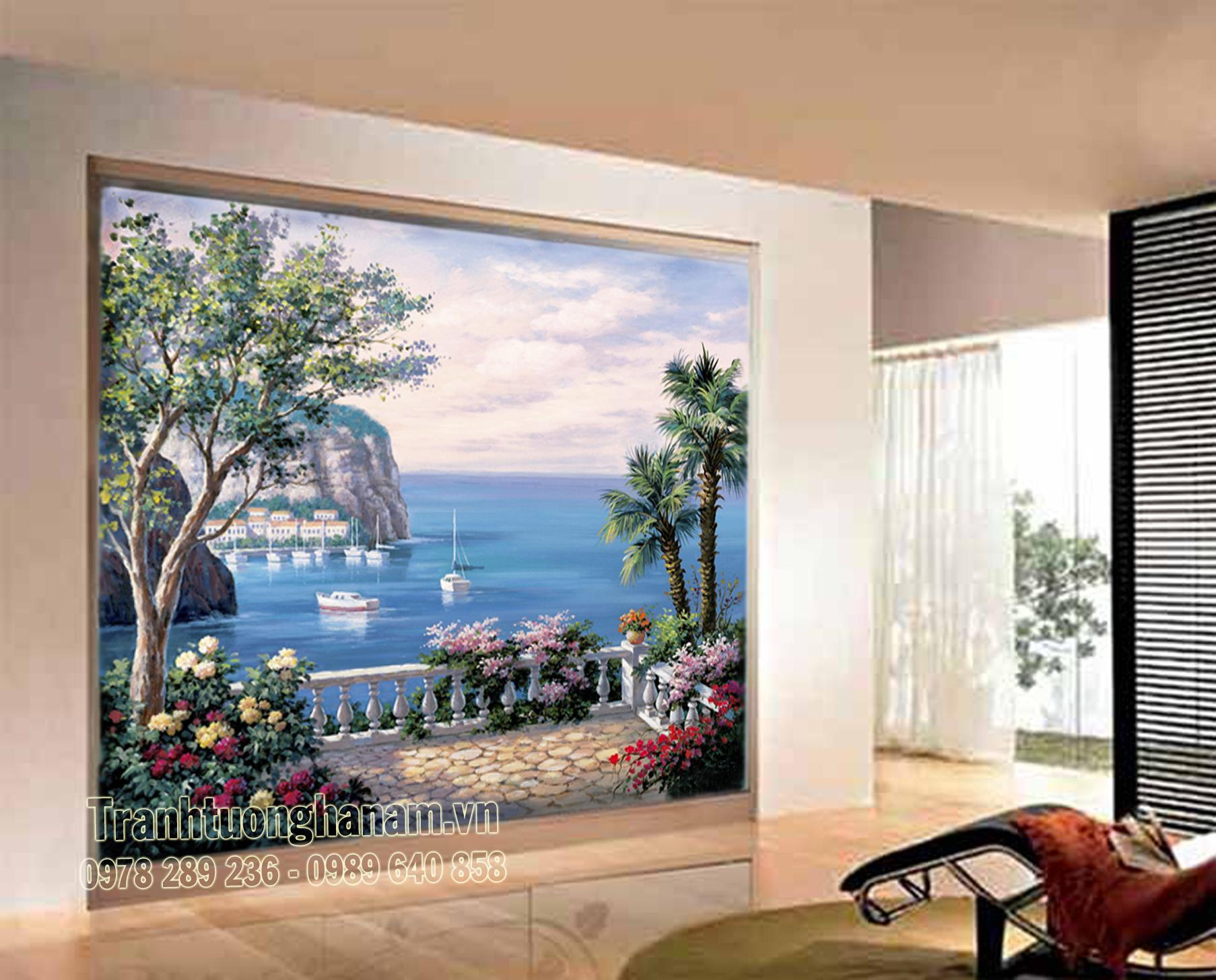 Vẽ tranh tường 3D đẹp – Môn nghệ thuật của sự thăng hoa