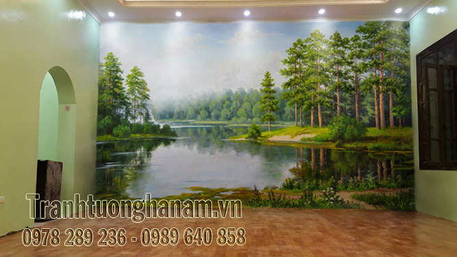 Công trình VẼ TRANH TƯỜNG Phong Cảnh tại Đồng Văn – Hà Nam