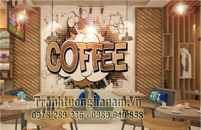 THIẾT KẾ KHÔNG GIAN 3D QUÁN CAFE Tại TT Hòa Mạc – Hà Nam