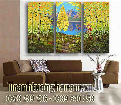 Chọn mẫu tranh Phong cảnh cho ngôi nhà bạn