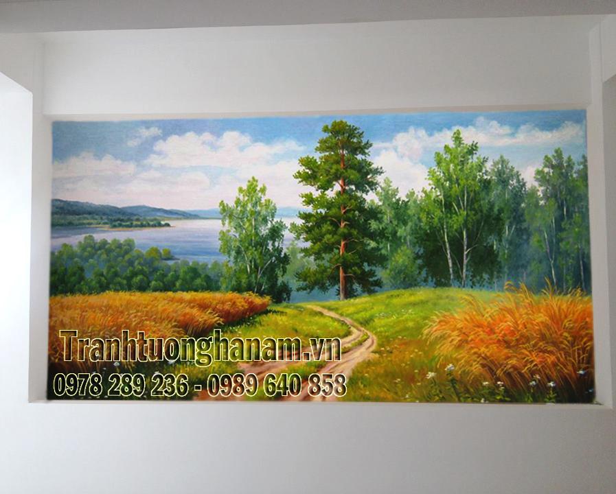 Vẽ Tranh tường đẹp tại Đồng Văn Hà Nam