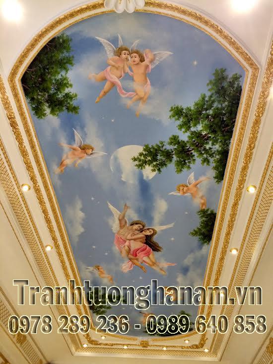 Bí quyết giúp bạn trang trí trần nhà đẹp